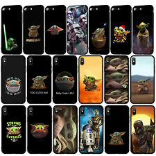Star Wars Baby Yoda Soft Case for iPhone 11 Pro XR X XS Max 8 7 6 6s Plus 5S SE