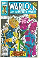Warlock and the Infinity Watch #9 (Oct 1992, Marvel) Origin of Gamora! Thanos!