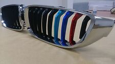 Chrome M-Performance Style Grille ///M Color For BMW F32/F33/F36 4-Series 14-16