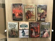 BARBARA MICHAELS LOT OF 8 VINTAGE PAPERBACK BOOKS GOTHIC ROMANCE SUSPENSE HORROR
