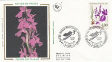 France 1992 FDC Flowers Of Ponds And Swamp yt 2769