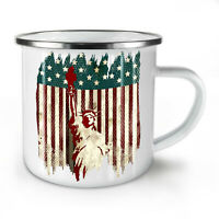 American Freedom NEW Enamel Tea Mug 10 oz   Wellcoda