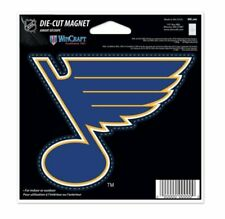 NHL St. Louis Blues 4 inch Auto Magnet Die-Cut by WinCraft