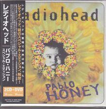RADIOHEAD - pablo honey 2 CD + DVD japan box set