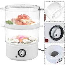 Electric Kitchen Food Steamer Steaming Bowl Cooking Meal Vegetable Veggie Home +