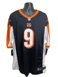 NWT JOE BURROW #9 CINCINNATI BENGALS NIKE ON FIELD MENS 3XL NFL JERSEY - $120