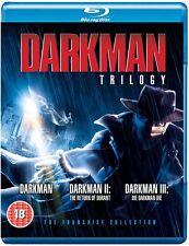 Darkman Trilogy - Blu ray NEW & SEALED - Liam Neeson