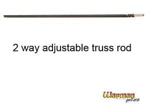 580mm 2 way adjustable electric bass guitar truss rod - Warman Guitars