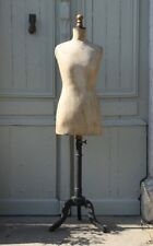 Vintage Antique French Mannequin,  Dress Form, Tailors Dummy, Jeanne D'arc