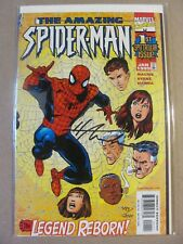 Amazing Spider-Man Vol.2 #1 Marvel 1999 Series Dynamic Forces Signed by Mackie