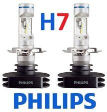 1 pr H7 Philips Ultinon LED Globes Bulbs 12v 24v +160% Brighter
