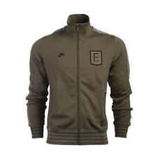 Nike Polyester Funnel Neck Zip Coats & Jackets for Men