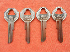 58 59 60 61 62 63 64 65 66 BONNEVILLE CATALINA CHIEFTAIN KEY BLANKS