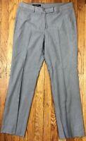 Brooks Brothers Women's Lucia Fit Flat Front Dress Pants Sz 6 Actual W31 L29.5