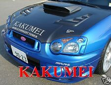 "FRP 4"" Tall Hood Bonnet Scoop For 2004 2005 04 05 Impreza WRX STi (KAKUMEI)"