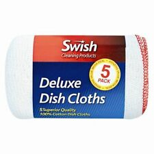 Swish Dish Cloths Deluxe 100 Cotton 5 Fast Delivery