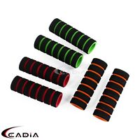 MTB Bike Racing Bicycle Motorcycle Handle Bar Foam Sponge Grip Cover Nonslip 2x