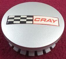 Cray Wheels Silver Custom Wheel Center Cap # D666 (1)