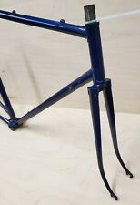 Vintage Unknown Maker Lugged Steel Road Frameset Campagnolo 57cm Frame/Fork