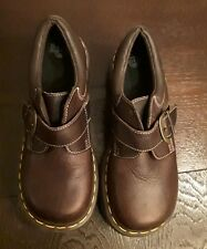 Dr. Doc Martens Brown Buckle Leather Shoes  US Womens 7/ US Mens 6/ UK 5 EUR 38
