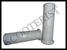 Vespa Handle Rubber Grips Set Grey Vba Vbb Super Sprint 150 125  GS SS PX LML