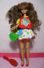 ALL ORIGINAL 1989 SKIPPER COOL TOPS COURTNEY brunette Doll Barbie Clothes/Shoes