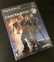 Fantastic Four 4  PlayStation 2 PS2 - Black Label  Free Shipping!