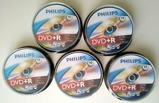 PHILIPS Lot de 50 Disques Vierges Enregistrable DVD+R 4.7 Go 120m 16x Spindle