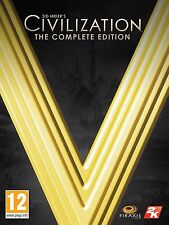 Sid Meier's Civilization V: Complete Edition PC Mac [Steam Key ] (CIV 5) NO DISC