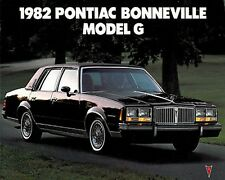 1982 Pontiac Bonneville Original Car Dealer Sales Brochure Catalog