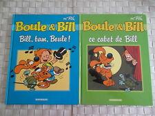 LOT DE 2 BD  : BOULE ET BILL - CE CABOT DE BILL et BILL BAM BOUM