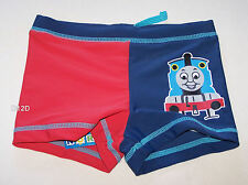 Thomas The Tank Boys Blue / Red Printed Swim Trunk Bathers Size 0 New