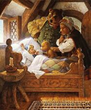 Goldilocks & 3 Bears Scott Gustafson Sold Out Print!