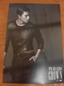 2PM  - [TAECYEON] Grown (Version B) [OFFICIAL] POSTER *NEW* K-POP