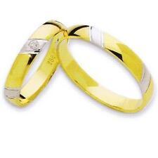 1 Paar Trauringe / Eheringe 585 Gold + Diamant *NEU*