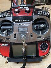 Futaba T14SG Transmitter updated software skin for DJI removable FASST