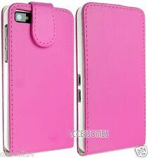 Blackberry Z10 Smart Battery Back Leather Case Cover Wallet Flip Slim Hot Design