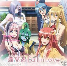 Monster Musume no Iru Nichijou OP Song Single CD Saikousoku Fall in Love