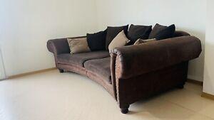 Stilvolles Sofa von LANDSCAPE +Sessel +hocker