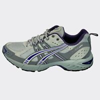 Asics Womens Gel Endoro 5 T9C9N Gray Purple Running Shoes Lace Up Low Top Size 9