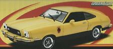 1:18 GREENLIGHT AUTO DIE CAST FORD MUSTANG II STALLION 1976 GIALLO  ART 12889