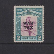 North Borneo - 1941, 2c Palm Cockatoo Bird, Optd War Tax stamp - MNH - SG 319