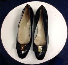 Salvatore Ferragamo 100% Leather Low (3/4 to 1 1/2 in) Heel Height Heels for Women