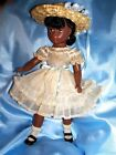 """Rare """"CYNTHIA"""" Black Doll 1953  by Madame Alexander 14 With Tagged Dress"""