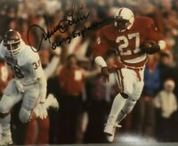 NEBRASKA FOOTBALL IRVING FRYAR 27 SIGNED AUTOGRAPHED PHOTO THE SCORING EXPLOSION
