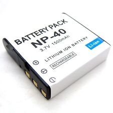 3.7v Li-ion Rechargeable Battery for NP-40 Casio EX-Z1050 EX-Z1080 Brand New