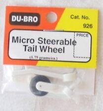 Du-Bro Micro Steerable Tail wheel  DUB926