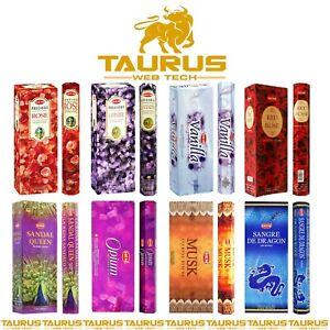 120 x HEM INCENSE Sticks Mix Scents Genuine New Fragrance Spiritual Pack Joss UK