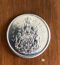 1965 Canada Silver Half Dollar 50 Cents