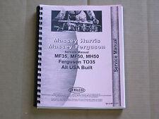 Jensales Service Manual For Massey Ferguson Mf 35 50 Harris